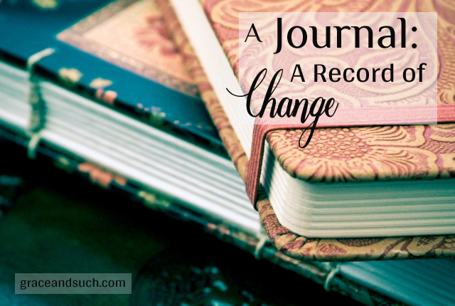 Journal: A Record of Change