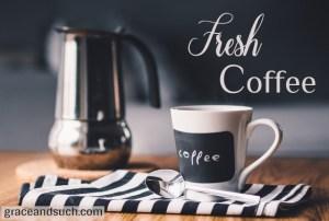Fresh Coffee Tina Kachmar
