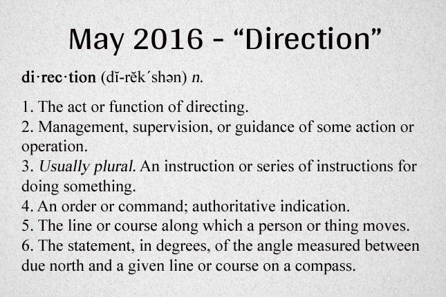 Direction Definition