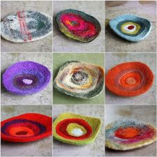 Felted Brooch 1