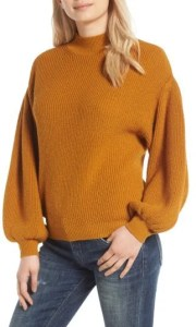 Women's Leith Blouson Sleeve Sweater