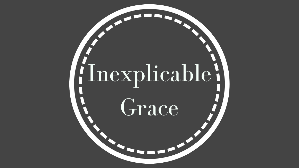 The inexplicable grace from our Heavenly Father is something that goes beyond words, but rather is something to be very deeply felt.