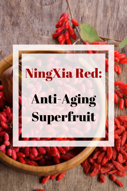 Ningxia Red Anti Aging Superfruit Grace Blossoms