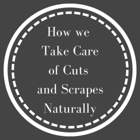 How we take care of cuts and scrapes naturally is simpler, safer, and less expensive than any other in store option available.