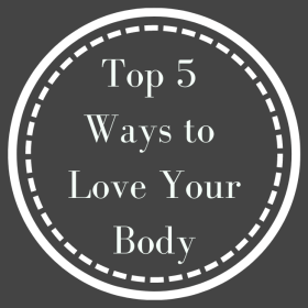 These are my favorite top five ways to love your body through the choices you make in your personal, and health and wellness care.
