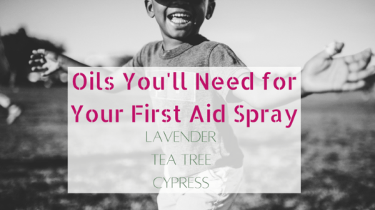 This simple and most effective natural first-aid spray is easy to make, stores well, travels great, and has helped our boys a ton!