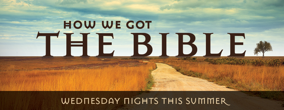 Learn more about our summer 2017 midweek Bible study