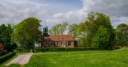 View of Fransum Church