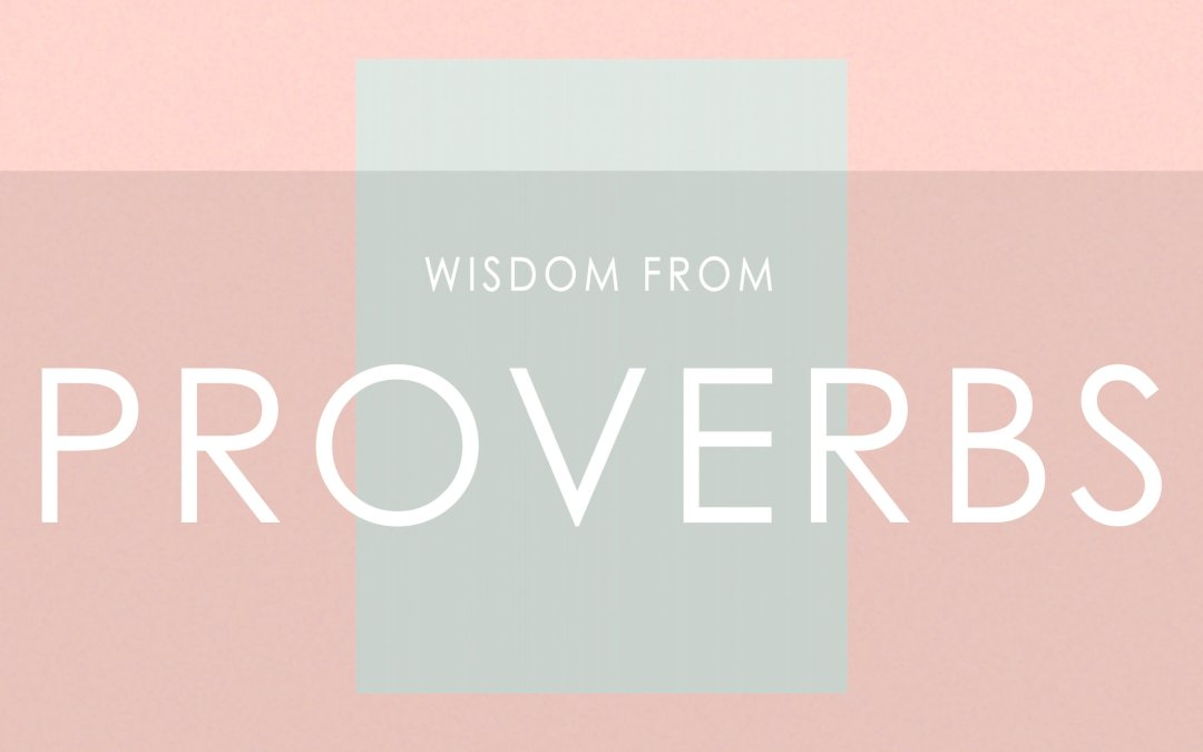 A Church For Our City 9.20.20 SERIES: Wisdom From Proverbs VISION SUNDAY