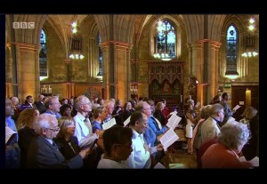 Songs of Praise at Southwark Cathedral
