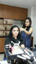 test makeup Lidya berlin