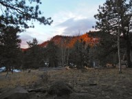 Sunrise at Eagle Lake