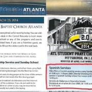 Bulletin from Sunday, March 23, 2014