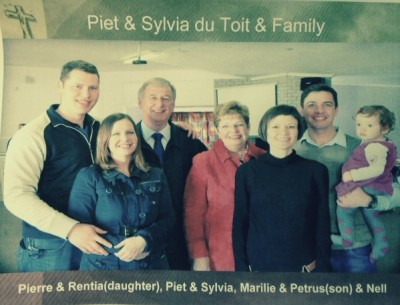 Piet duToit and family