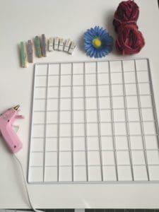 supplies for organizer