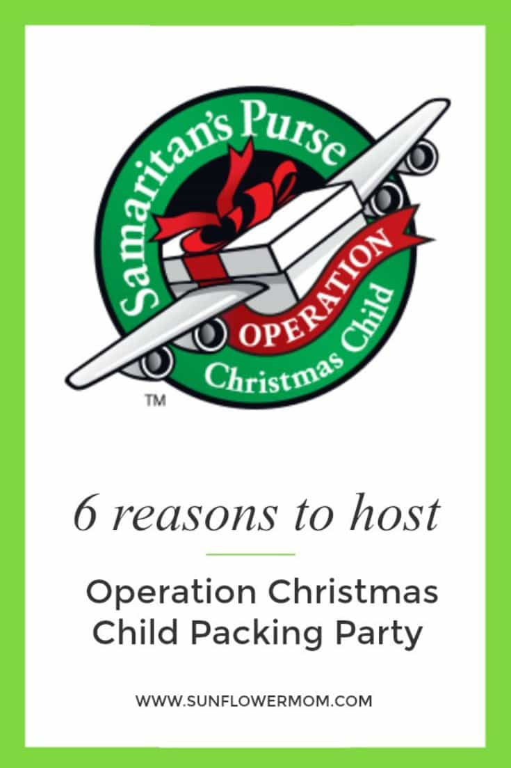 6 Reasons to Host an Operation Christmas Child Packing Party