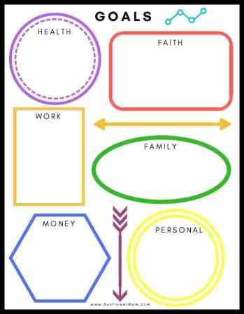 simple goals worksheet