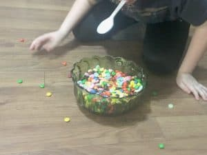 valentine's day candy bowl game