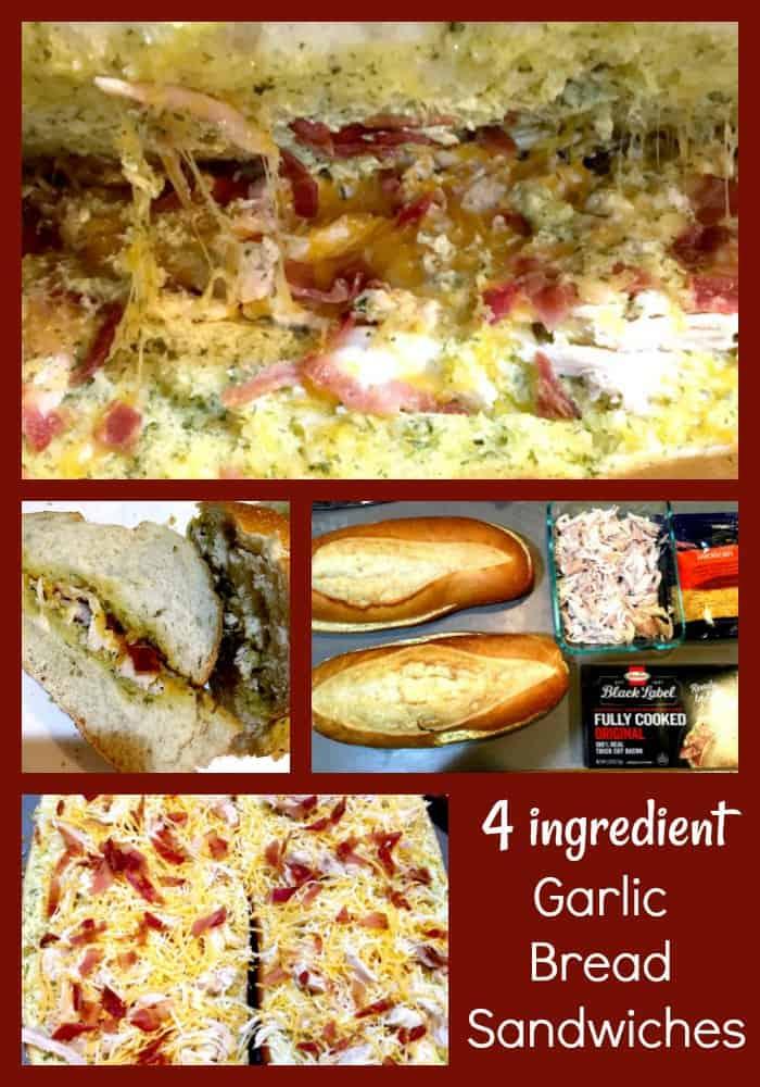 How to Make Crowd Pleasing Garlic Bread Sandwiches