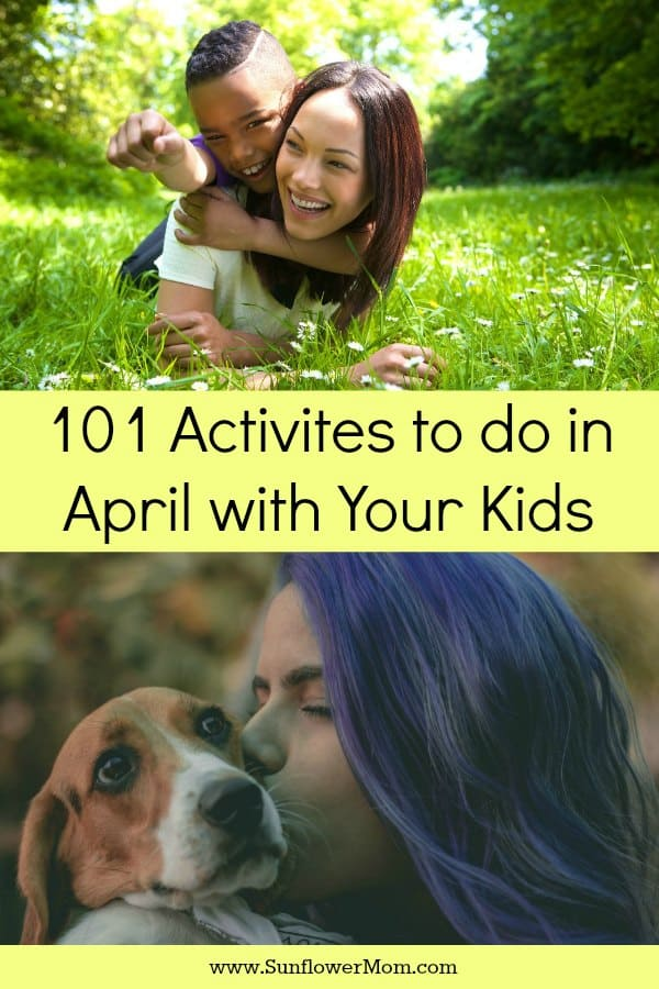 Fun Days to Celebrate in April with Kids