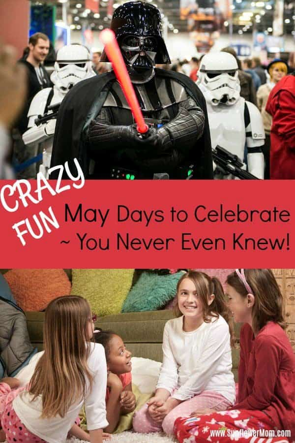 May Days of the Year ~ Activities to do for Families