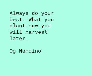 Og Mandino do your best quote