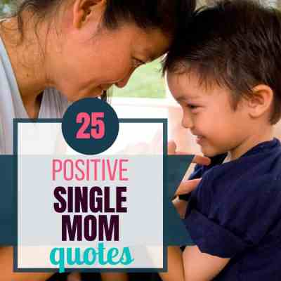 single mom positive quote