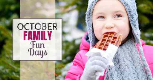 October family fun days