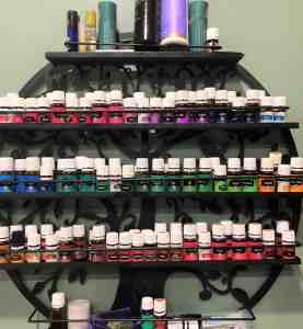 essential oil shelf
