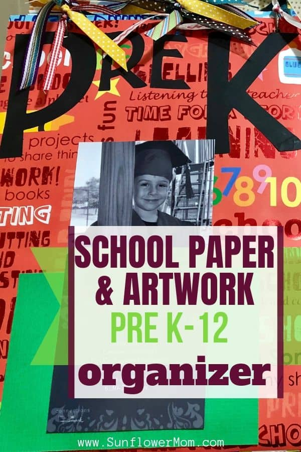 How to Create a Special School Paper and Artwork Organizer