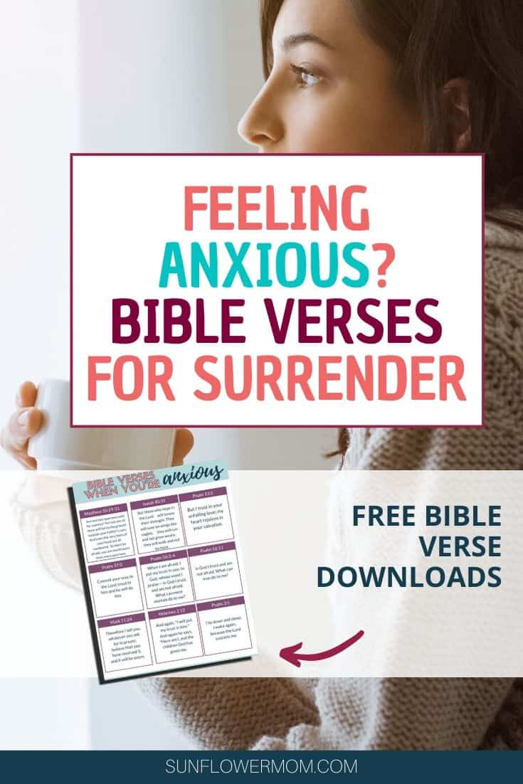How to Face Anxious Thoughts – with the best Bible Verses on Anxiety
