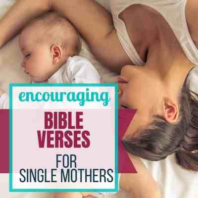 bible verses single moms