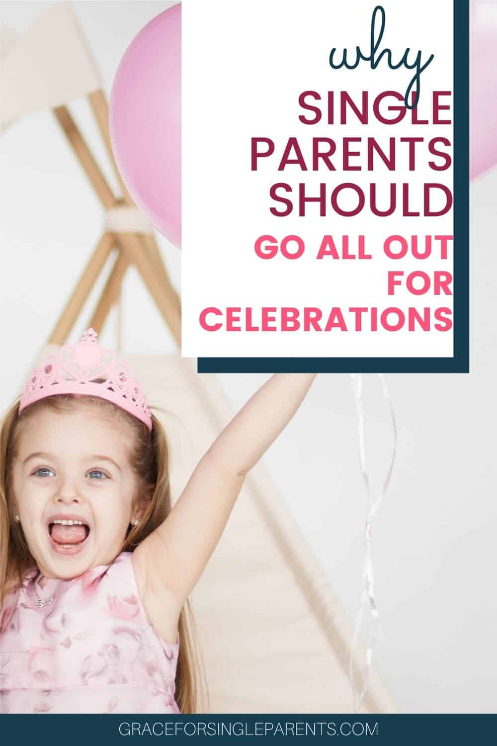 Celebrating Birthdays Big When You are a Single Parent