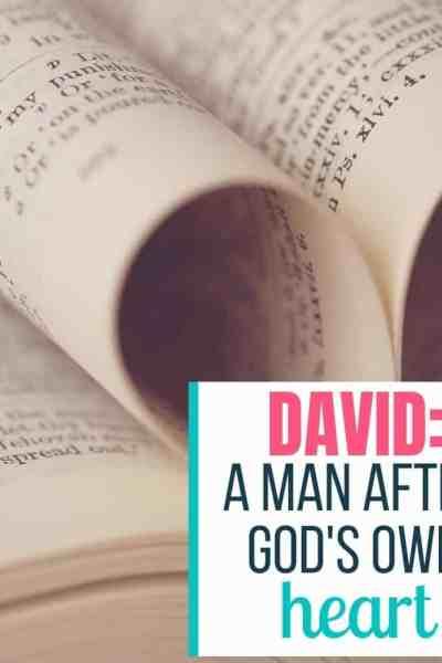 david gods heart