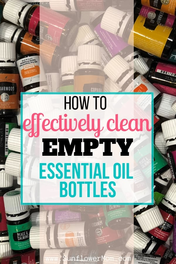 How to Effectively Clean your Empty Essential Oil Bottles