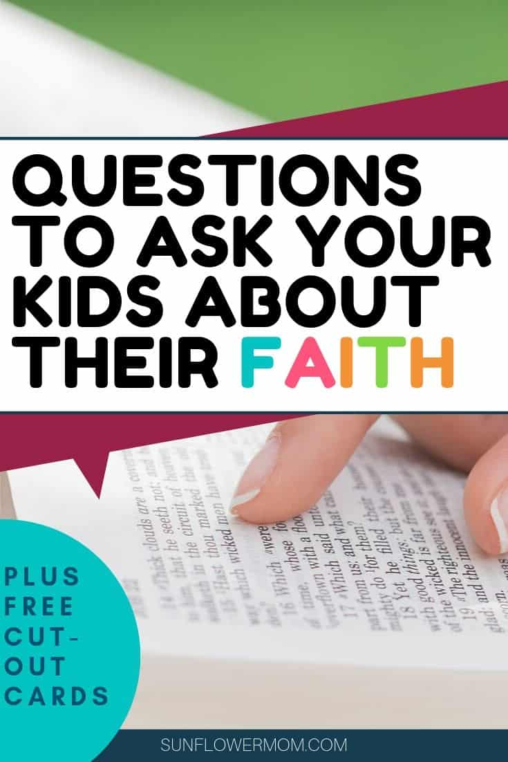 20 Important Faith Questions for Youth Worth Discussing