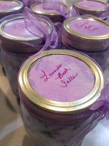 lavender bath salts gift