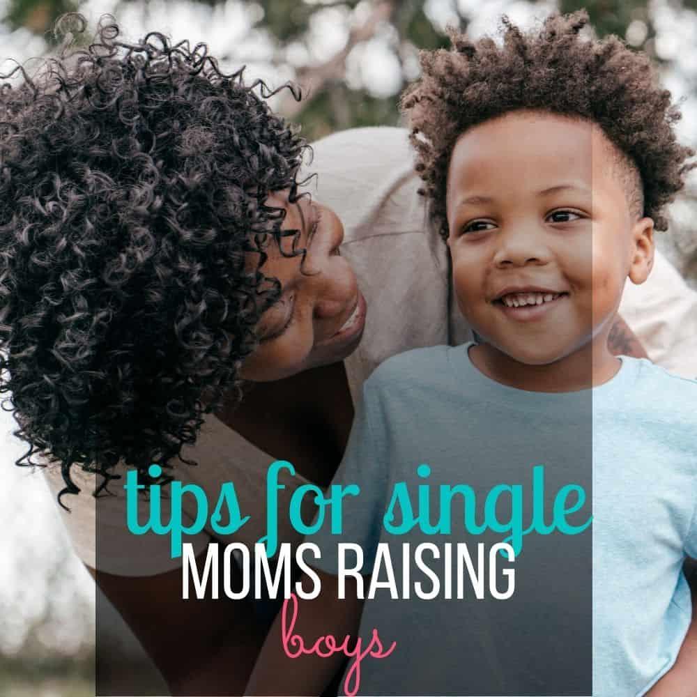 single mom raising boys