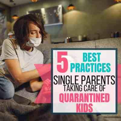 single-parent-quarantied-kids