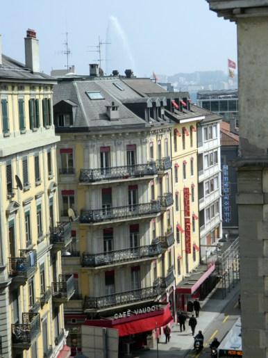 View from my window, Geneva