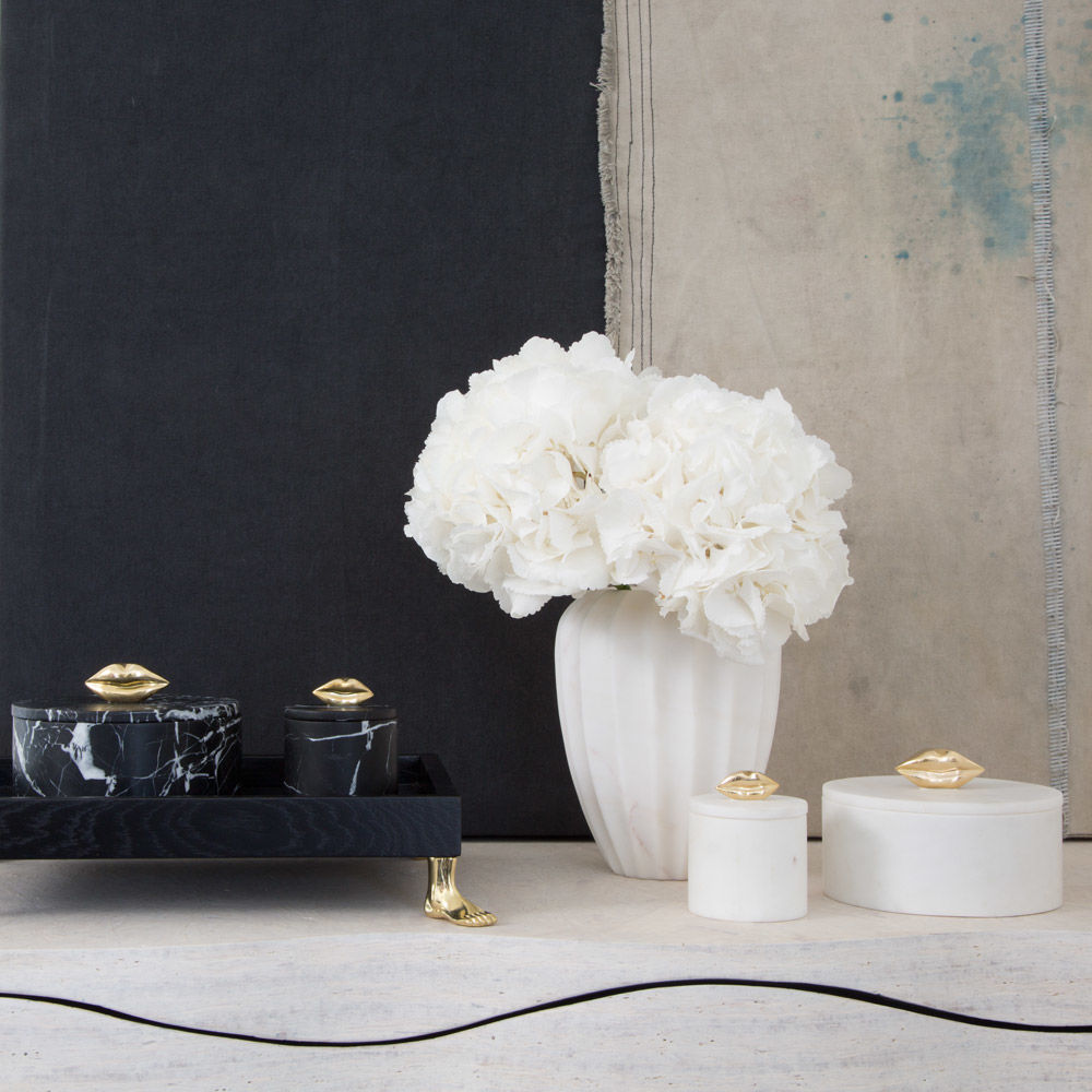 Kelly Wearstler Utility Pots - Bathroom Essentials