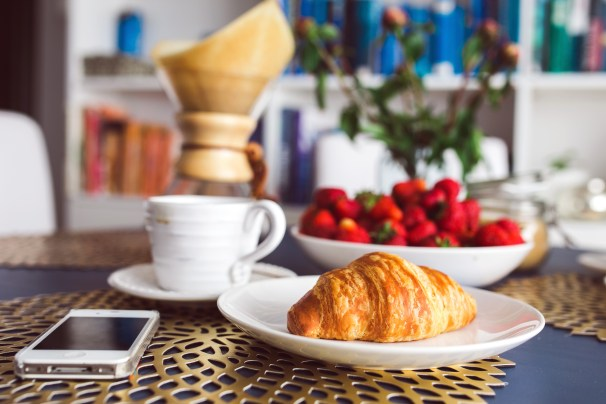 Things to do in Paris - Croissant and Coffee