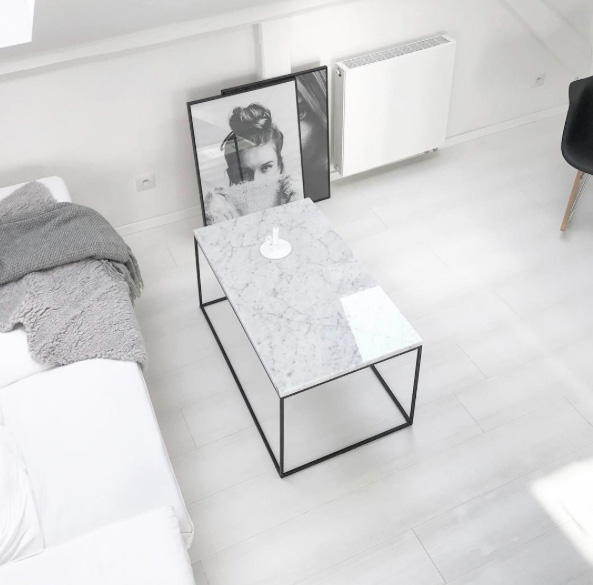Minimalist Monochrome Interior Look - Home Accessories