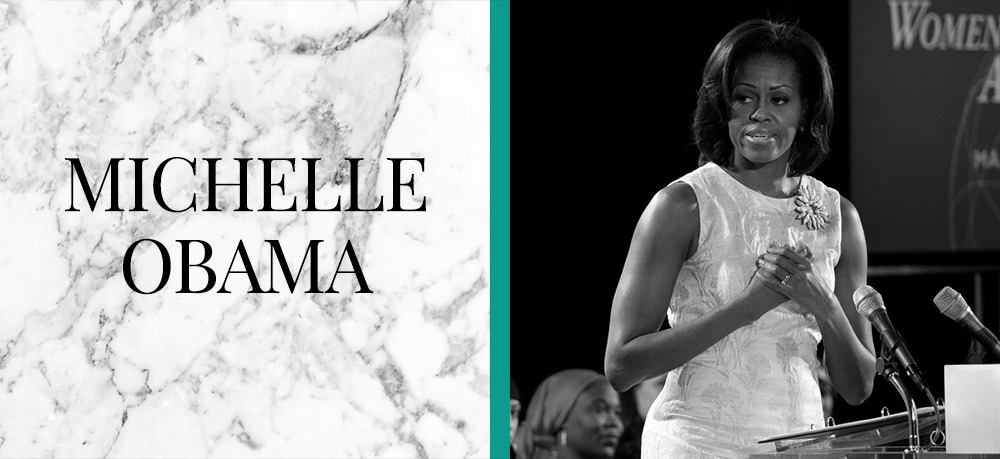 Inspirational-Women-of-the-21st-Century - Michelle Obama