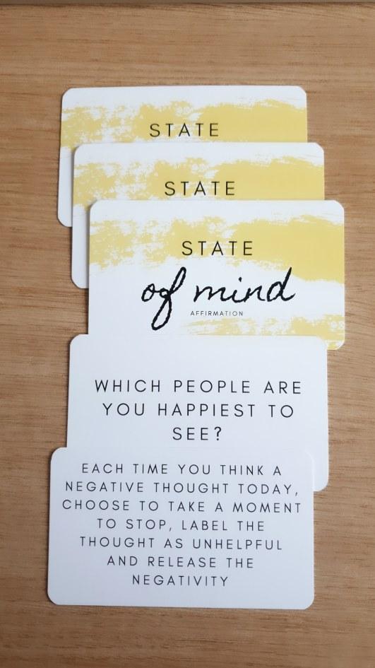 State of Mind Affirmation Cards
