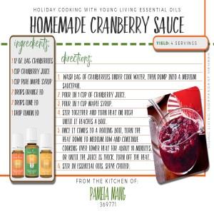 Cranberry Sauce!