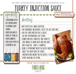 Turkey Injection Sauce