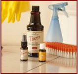 cleaning with essential oils