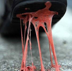 Carpet nightmares: Chewing gum edition