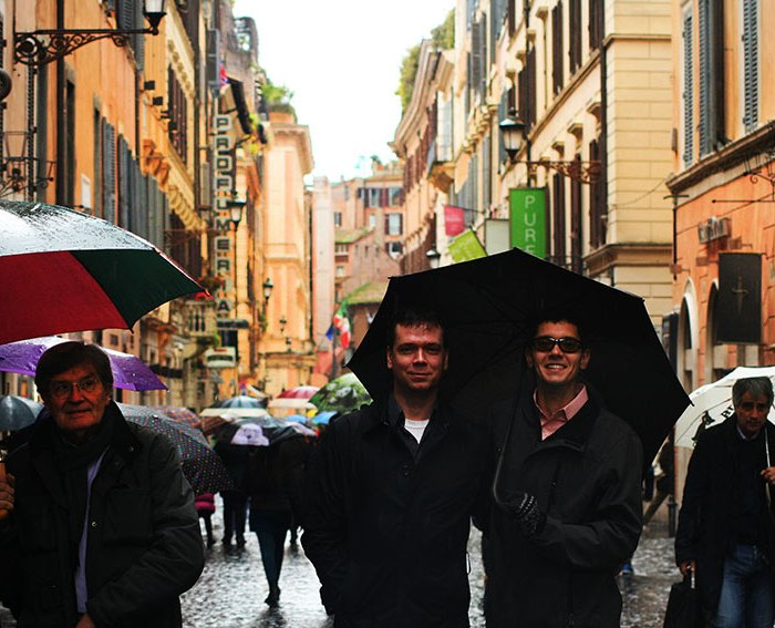 My kindred spirits in Rome